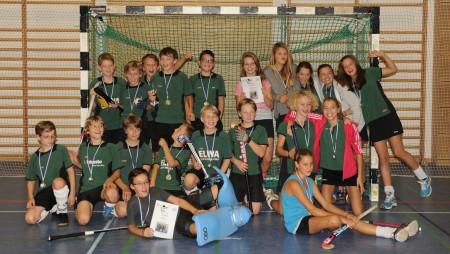 Gewinner Knaben B - TuS Obermenzing und Zweiter Mädchen B auch TuS Obermenzing