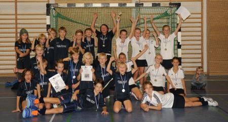 Gewinner Mädchen B und Zweiter und Dritter Knaben B: ESV München
