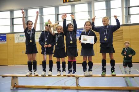 ESV Mädchen D - Sieger Dreikönigsturnier 2014