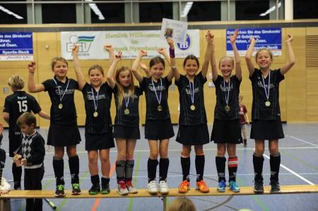 ESV Mädchen C - Sieger des Drei-König-Turniers 2014