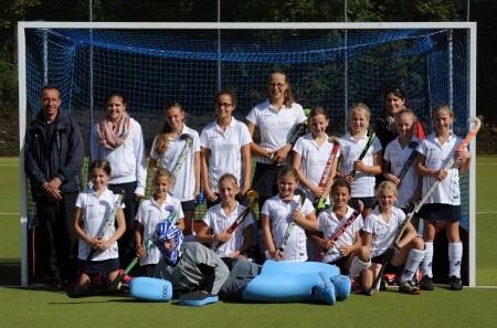B-Mädchen Team in Erlangen
