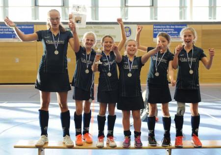 Verdiente Sieger - die ESV B1-Mädchen