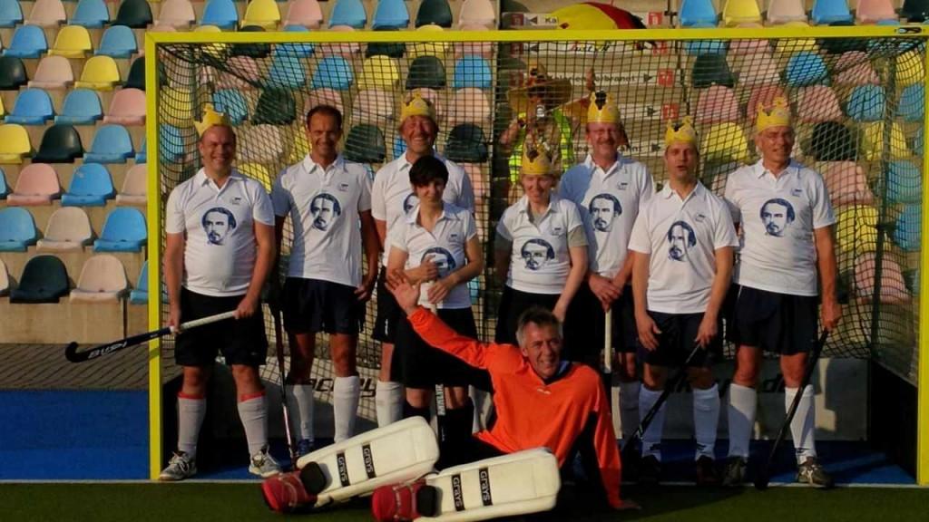 Unser Team beim Elternhockey-Festival in Mönchengladbach 2014
