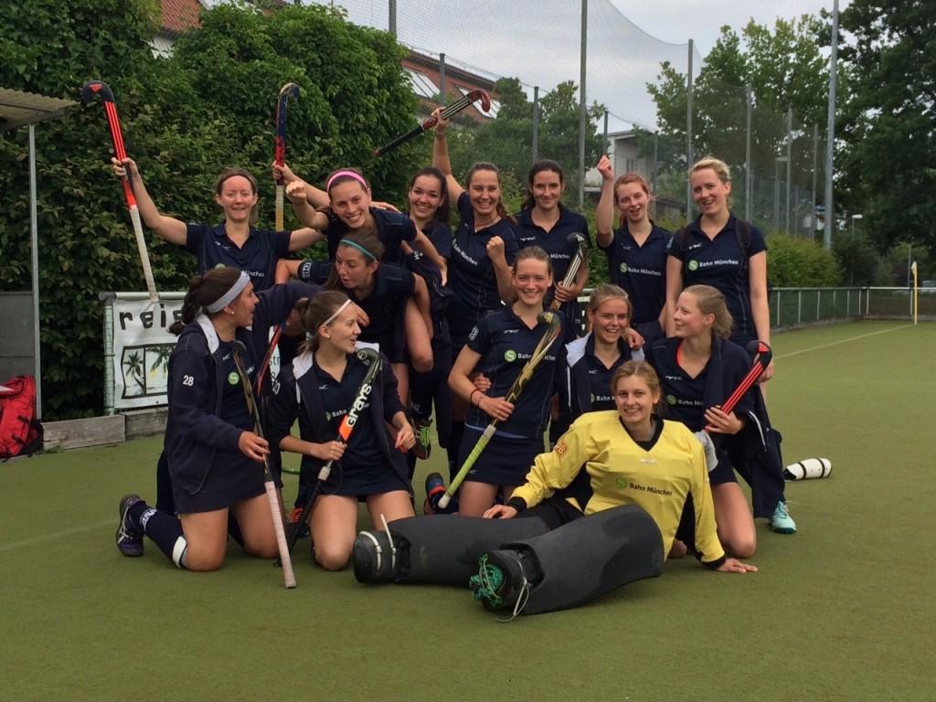 Saisonziel erreicht: Die Hockey-Damen des ESV