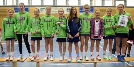 Die HG Nürnberg siegte bei den B-Mädchen