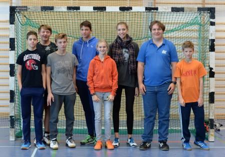 Das Schiedsrichterteam