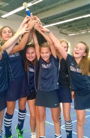 ESV-Mädchen feiern ihren Sieg
